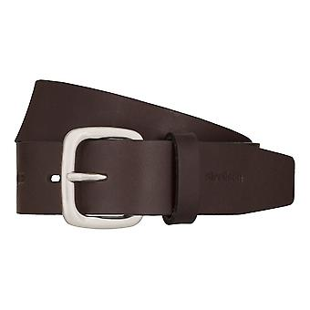Strellson jeans belt men belt cowhide leather belt Brown 7919
