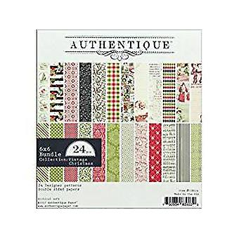 Authentique 6x6 Paper Pad Vintage Christmas
