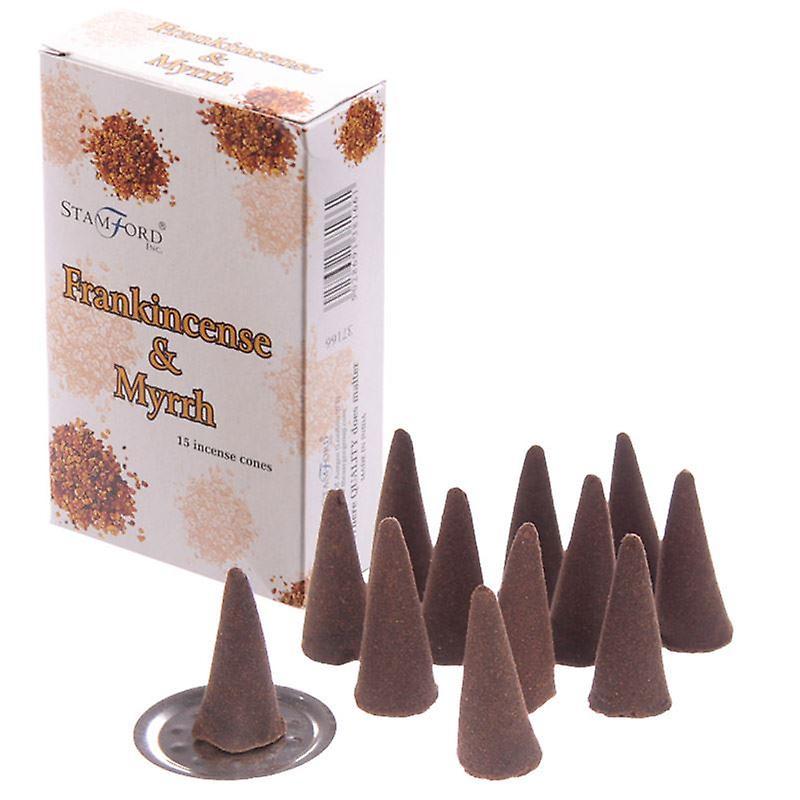 Stamford Incense Cones - Frankincense & Myrrh