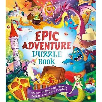 Epic Adventures Puzzle Book by Dr Gareth Moore - 9781784288044 Book