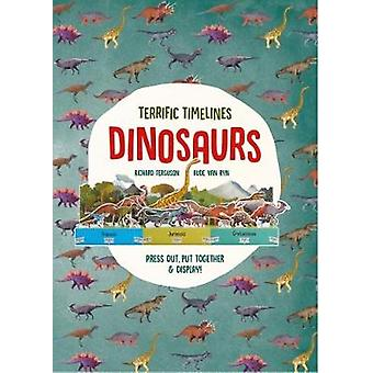 """Terrific Timelines - Dinosaurs - """"Press out - put together and dis"""