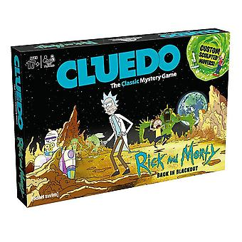 Rick and Morty Cluedo Mystery Board Game