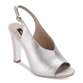 DKNY naisten Col nahka Peep Toe erityinen tilaisuus slingback sandaalit