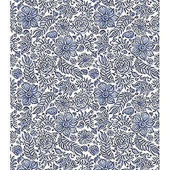 Craft Consortium Indian Blue Decoupage Papers (CCDECP287)