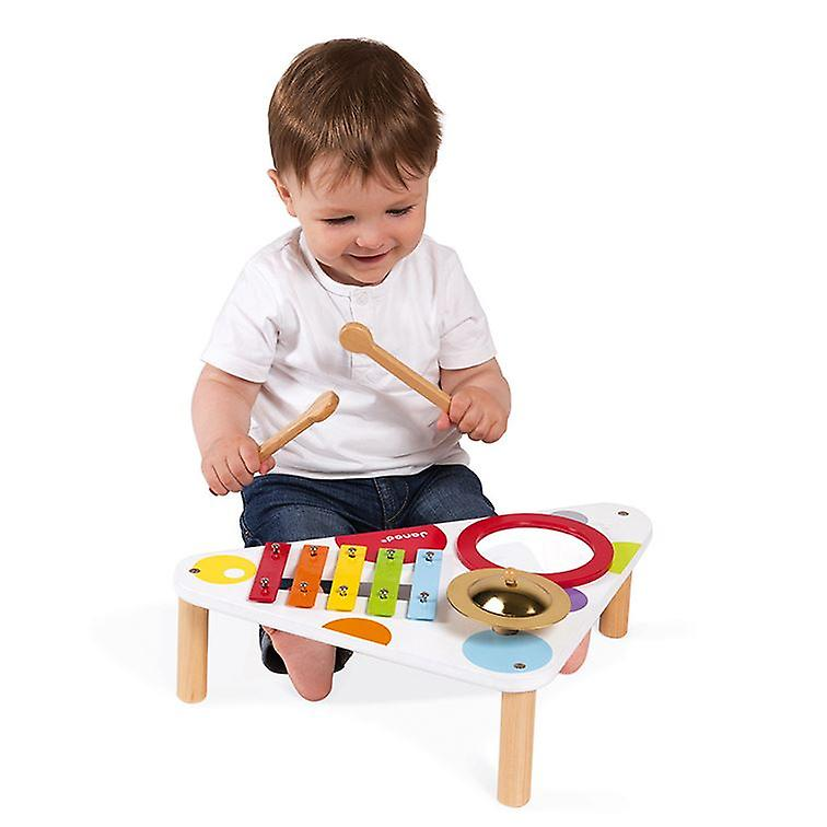Janod Confetti Wooden Musical Table