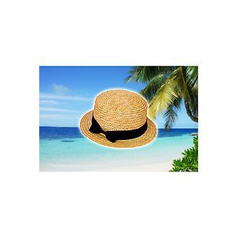 Hår tilbehør venetiansk gondol mand halm hat