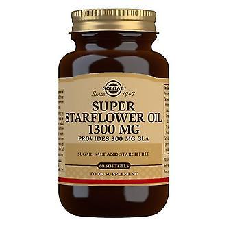 Solgar super starflower óleo 1300mg softgels 60 (2676)