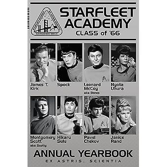 Poster - Star Trek - Academy Class of '66 36x24