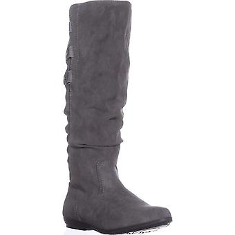 Cliffs by White Mountain Womens Felisa Almond Toe Knee High Fashion Boots