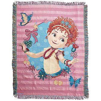 Woven Tapestry Throws - Fancy Nancy - Mademoiselle New 024035