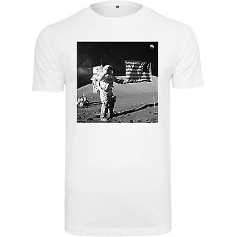 Mister Tee Shirt - NASA Moon Landing White