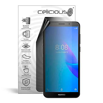 Celicious Privacy Lite 2-Way Anti-Glare Anti-Spy Filter Screen Protector Film Compatible with Huawei Y5 Lite (2018)