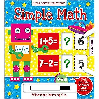 Simple Math (Answer & Reveal 5+) [Board book]