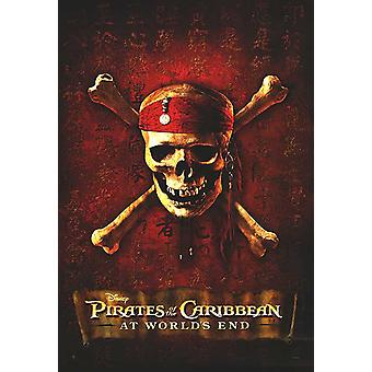 Pirates Of The Caribbean: At Worlds End (Advance Reprint) (2003) Réimpression Cinema Poster