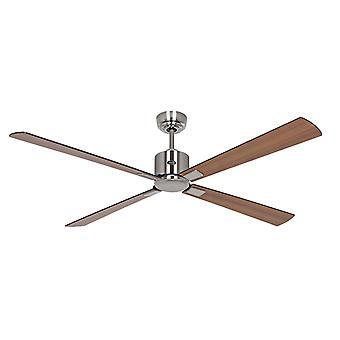 Ceiling Fan ECO NEO III 152 CH Black / Teak