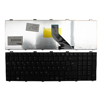 Fujitsu Siemens LifeBook AH531/GFO svart tyska layout Replacement laptop tangentbord
