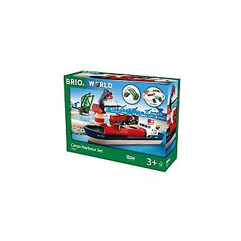 Brio 33061 Brio Cargo Harbour Set