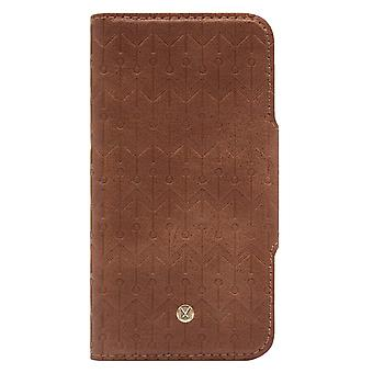 Marvêlle iPhone Xs Max Magnetic Case & Wallet Light Brown Signature