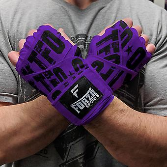 Forza Sports 180-quot; Mexicain Style Boxing et MMA Handwraps - KTFO Purple