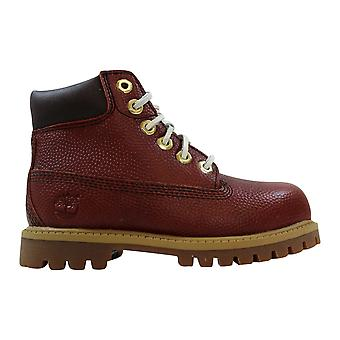 Timberland 6 Inch Premium Waterproof Boot Brown Textured TB0A16Y2 Toddler