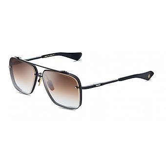 Dita Mach-Six DTS121 03 Black Iron-Black Ruthenium/Dark Brown Gradient Sunglasses