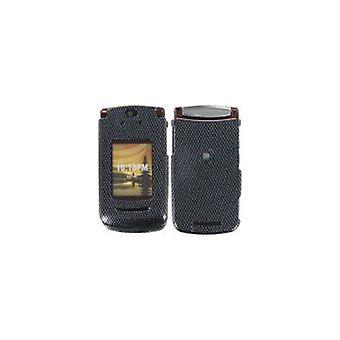 Verizon lærveske med belteklips for Moto v9m-svart