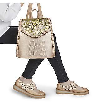 Ruby Shoo naisten ' s Davina pitsi ylös loafer kengät & matching Basseterre reppu