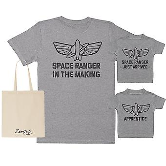 Space Ranger In The Making Maternity Hospital Gift Set Bag - T-Shirts set