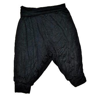 Spodnie dla niemowląt śmigają czarny