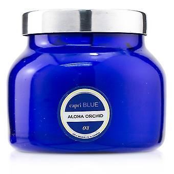 Capri blauw blauw potje kaars-Aloha Orchid 226g/8oz
