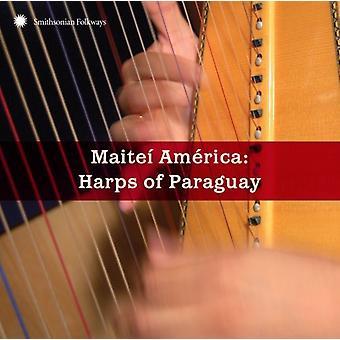 Maitei Amerika: Harfen von Paraguay - Maitei Amerika: Harfen von Paraguay [CD] USA Import