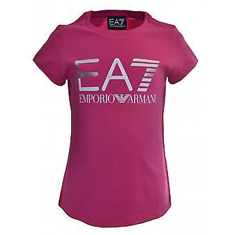 EA7 Girls Pink T-Shirt