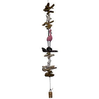 Rosa Flamingo Cohasset Glocke