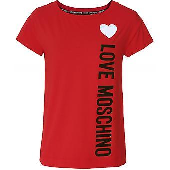 Moschino Love Moschino Heart Logo T-Shirt