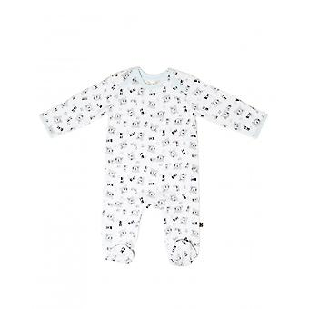 Bear Baskı ile Essential One Unisex Bebek Sleepsuit