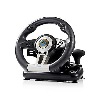Racing wheel for PC with Gas/brake pedals and shift lever