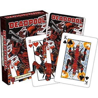 Marvel - deadpool mirror playing cards