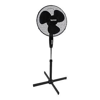 Benross 16 Inch Oscillating Stand Fan 50W Black