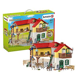 Schleich Farm World Large Farm House Playset
