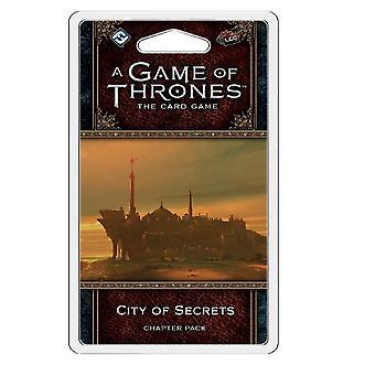 Un joc de tronuri LCG 2a Edition - City of Secrets Capitolul Pack