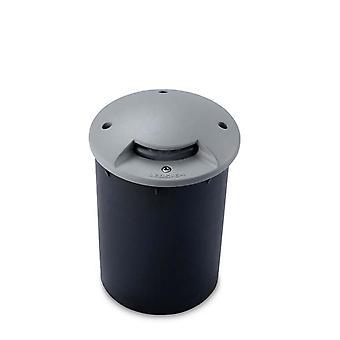 Leds-C4 Xena - Outdoor LED Uplight Verzonken Grijs 13cm 128lm 4200K IP67 - 55-9424-34-CM