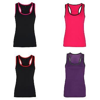 Tri Dri Womens/damer Panelled Fitness ärmlös väst