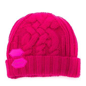 Knit Pop Color Logo Beanie