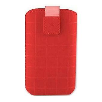 Universal cover for Mobile Roma Xl KSIX Red (12.4 x 7.8 x 1.3 cm)
