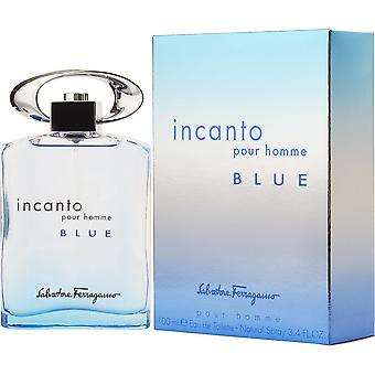 Salvatore Ferragamo Incanto Pour Homme Blue Eau de Toilette Spray 100ml