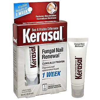 Kerasal nail fungal nail renewal treatment, 3 month supply, 0.33 oz