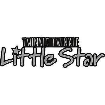 Marianne Design Craftables Cutting Dies - Twinkle, Twinkle Little Star (EN) CR1328