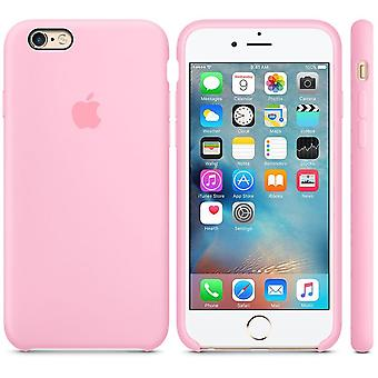 Original packaging Apple Silicone Cover Case for iPhone 6 6S light pink pink