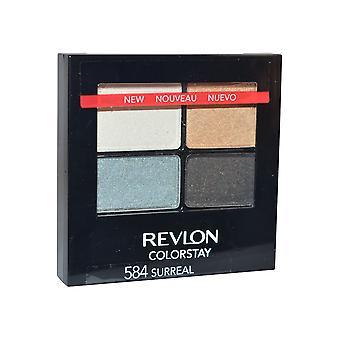 Revlon Colorstay Eyeshadow Quad 4,8 g Surreal #584