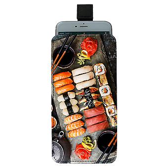 Sushi Pull-up Mobile Tasche